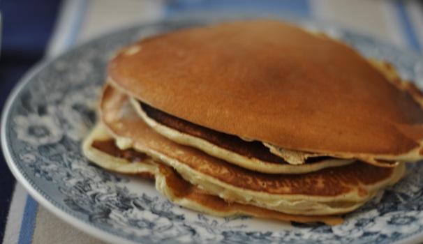 pancake alle mandorle ricetta