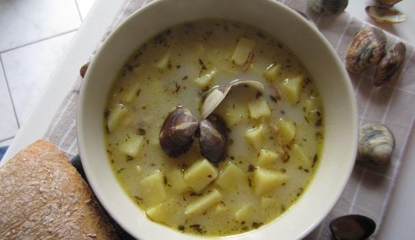 Clam Chowder ricetta originale