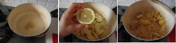 Confettura di mele con limone