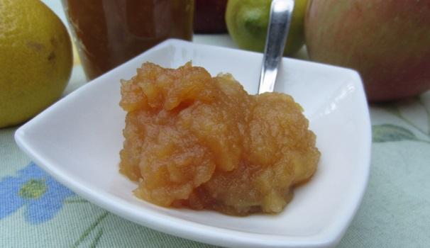 Confettura di mele fatta in casa