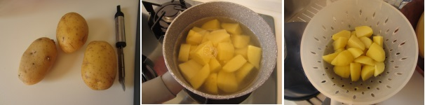 Patatas bravas procedimento