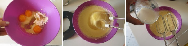 Torta kinder paradiso con la vaniglia