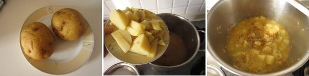 Zuppa di crauti procedimento