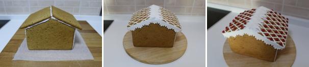 casetta di pan di zenzero decorazione