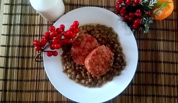 cotechino zampone e lenticchie