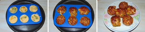 omelette muffin al forno