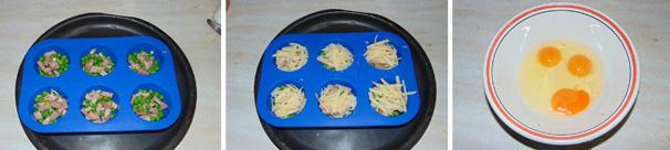 omelette muffin stampo silicone