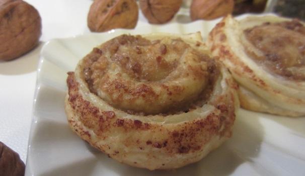 Girelle con pesto di noci ricetta