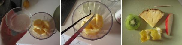 Pina colada con latte di cocco