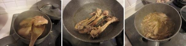 Pollo con mele e pepe