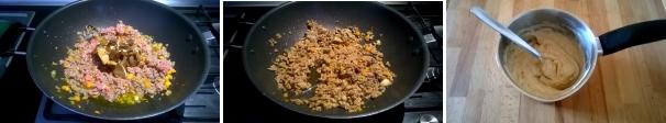 lasagna con porcini e tartufo preparazione