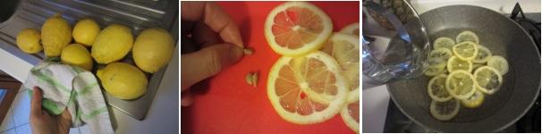 Marmellata di limoni procedimento