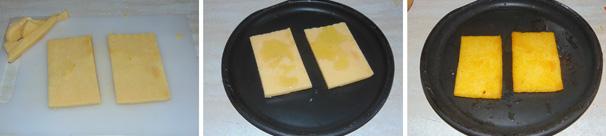 crostoni di polenta antipasto veloce