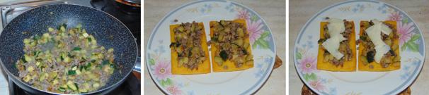 crostoni di polenta preparazione
