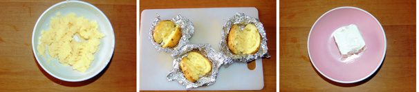 patate al cartoccio contorno veloce