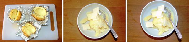 patate e robiola passo passo