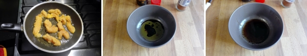 pepite di pollo alla paprika preparazione