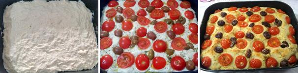focaccia con pomodorini con bimby