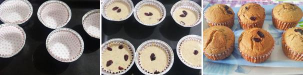 muffin integrali con bimby