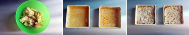 tortino rombo e carciofi preparazione