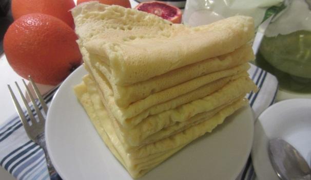 Crepes senza glutine delicati