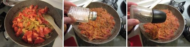 Friggione bolognese conpomodori