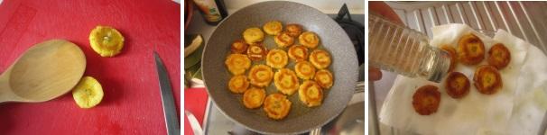 Platano fritto croccante