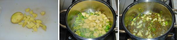 minestra di fagioli azuki preparazione