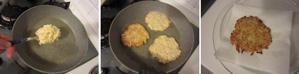 Rosti di patate e daikon vegetariano