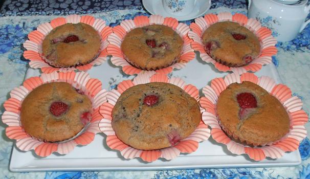 muffin alle fragole con bimby
