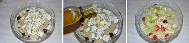 insalata con quinoa ricetta light