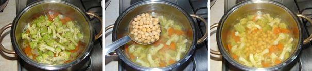 minestra con cavolo romanesco