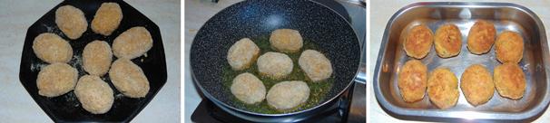 polpette con uova di quaglia secondo piatto