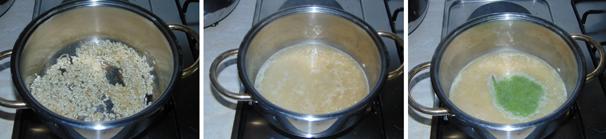 risotto con asparagi e uovo