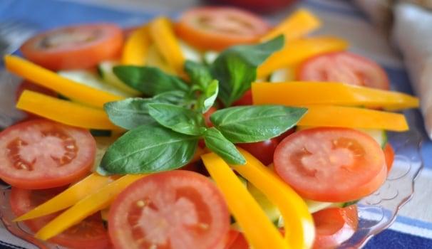 Gazpacho in insalata RISULTATO FINALE