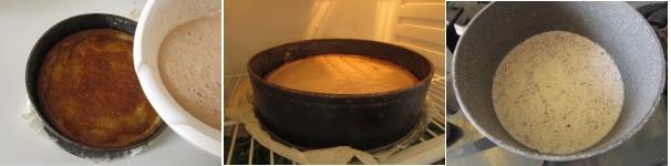 Torta di cioccolato, fichi e zenzero con cremoso