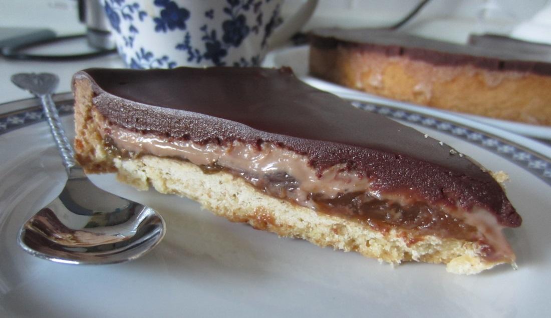 Torta di cioccolato, fichi e zenzero squisita