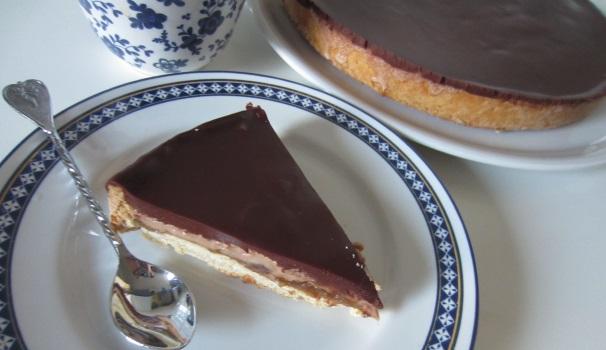 Torta di cioccolato, fichi e zenzero