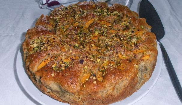 Torta di nespole e pistacchi con bimby