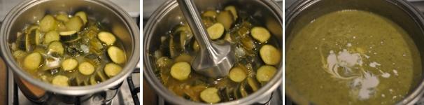 Vellutata di zucchine alla ligure ricetta facile