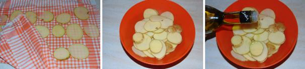 chips alla paprika al forno passo passo