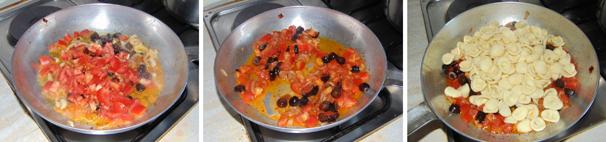 orecchiette con olive ricetta passo passo
