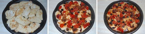 scaloppine all'isolana con capperi e olive
