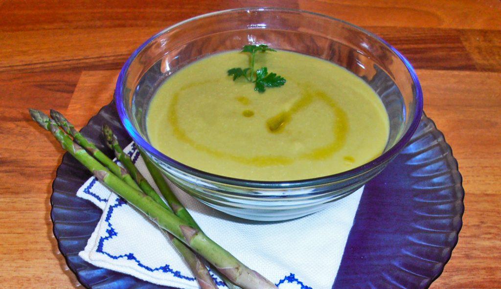 ricetta Vellutata di asparagi con bimby