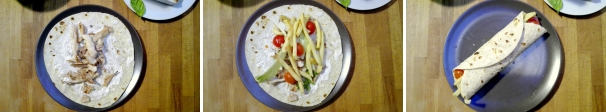 kebab di pollo procedimento