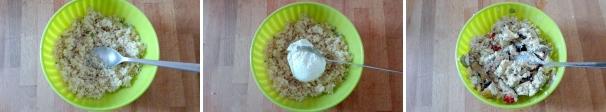 quinoa con verdure procedimento