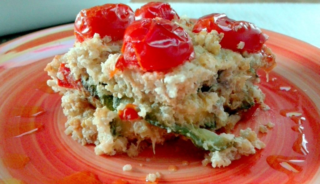 quinoa al forno con verdure