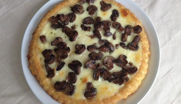 torta di patate con funghi e formaggio_