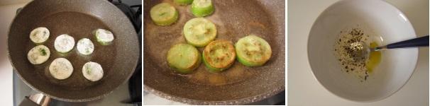 Pomodori verdi fritti con panna saporiti