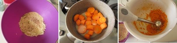 Sformatino di carote senza albumi